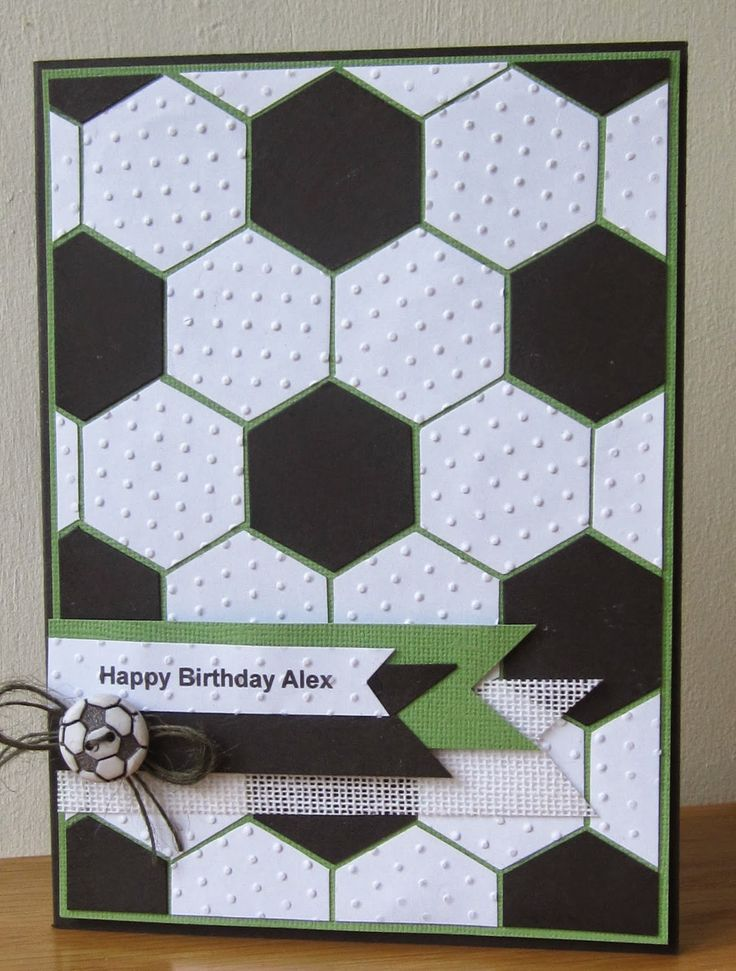 Allsorts challenge blog - football card
