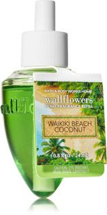 Waikiki Beach Coconut Wallflowers Fragrance Refill - Home Fragrance 1037181 - Bath & Body Works