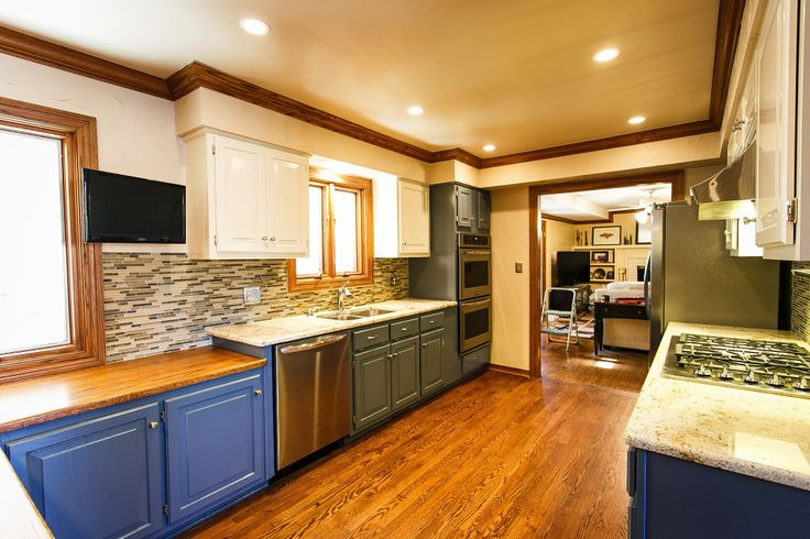 This a kitchen that we remodeled in Fayetteville, AR.