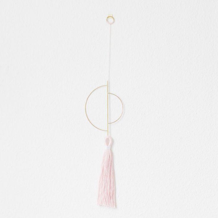 Arvak Wallhanger, V2 | Design  Brass, Twine, Wallhanging, Wall hanging, Nørkl