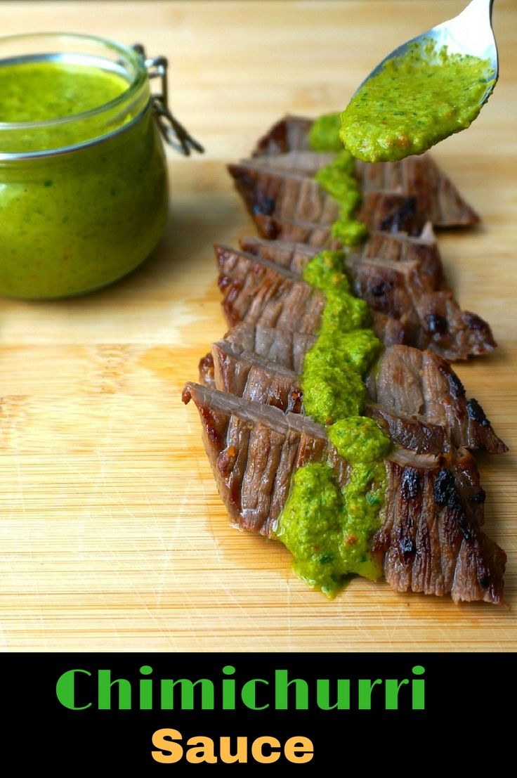 Chimichurri Sauce Recipe| Green Chimichurri Sauce| Argentinian Steak Sauce| Fresh Argentinian Green Chimichurri Sauce| How to make Chimichurri Sauce
