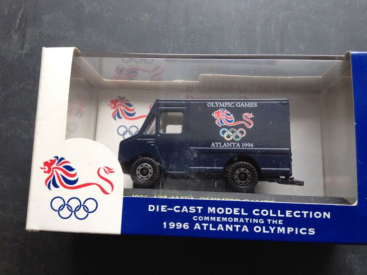 Lledo Step Van - Atlanta 1996 Olympics Livery - GB Olympic Team Product
