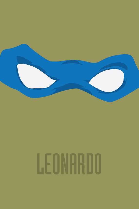 This poster is part of the TMNT Series and is the perfect gift for any geek. Leonardo Poster is 12x18. This print is on high gloss photo