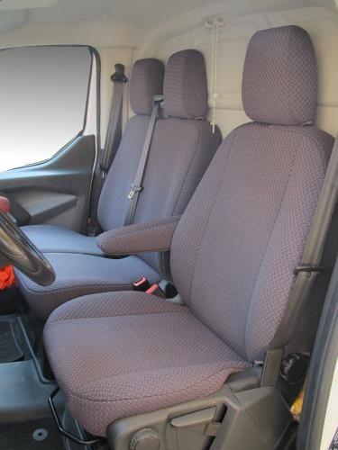 Coprisedili Ford Transit Custom 7 posti dal 2012 su misura