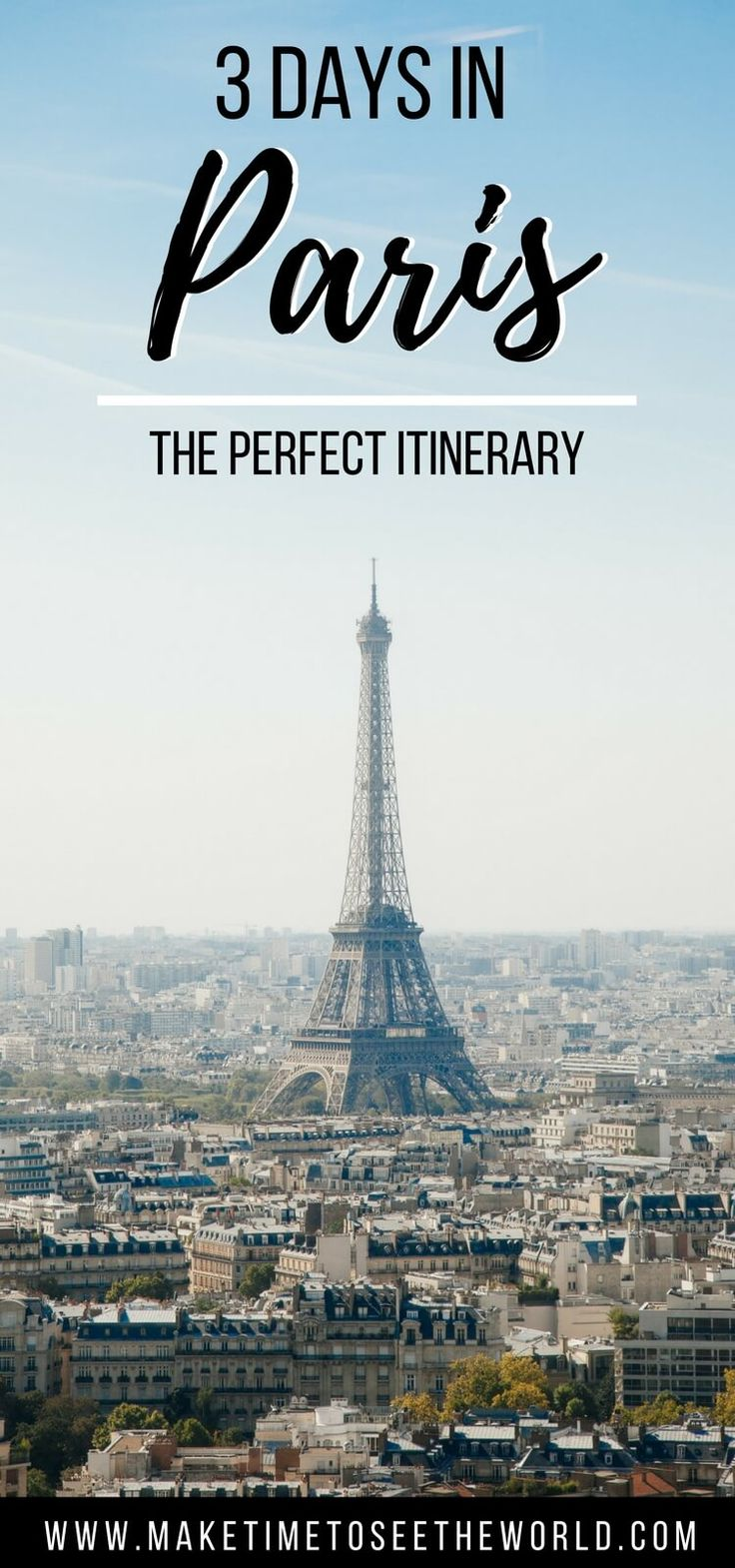 Whether you're planning a long weekend or 3 days in #Paris, this post is for you. Packed with ideas for what to do, where to stay and what to eat - as recommended by a local - let us give you the inside scoop on all things Parisian *** #Paris #France - Paris Itinerary   3 days in Paris   Things to do in Paris   Paris Travel   Paris Travel Tips   Paris Travel Places   Paris Travel Guide   Paris Travel Things to do   Paris Weekend