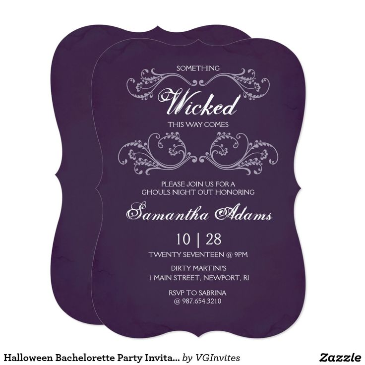 178 best Boo! Halloween Invitations and Inspiration images on ...