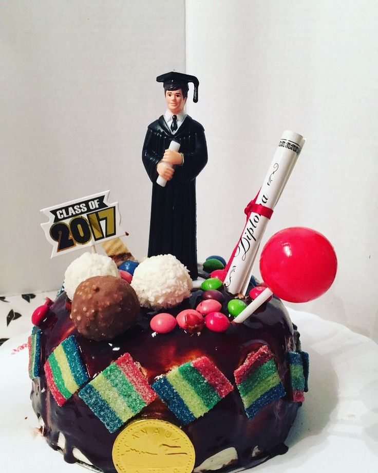 Drip cake finissant