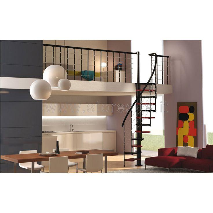 Oltre 25 fantastiche idee su scale a chiocciola su for Case modello artigiano