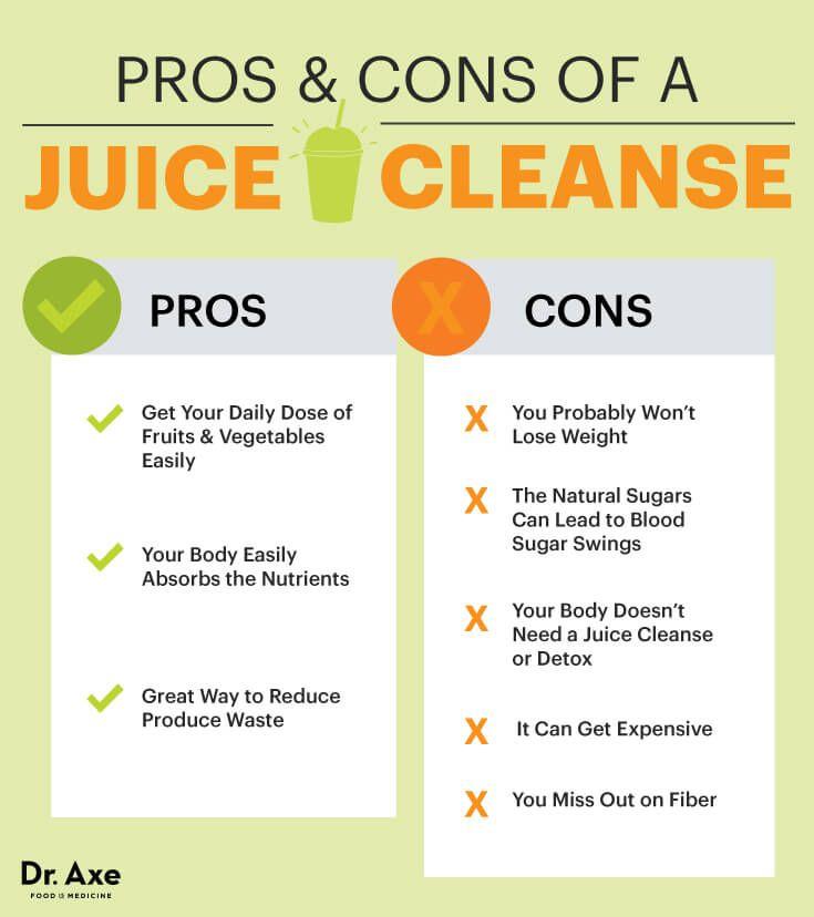 lemon detox pros and cons