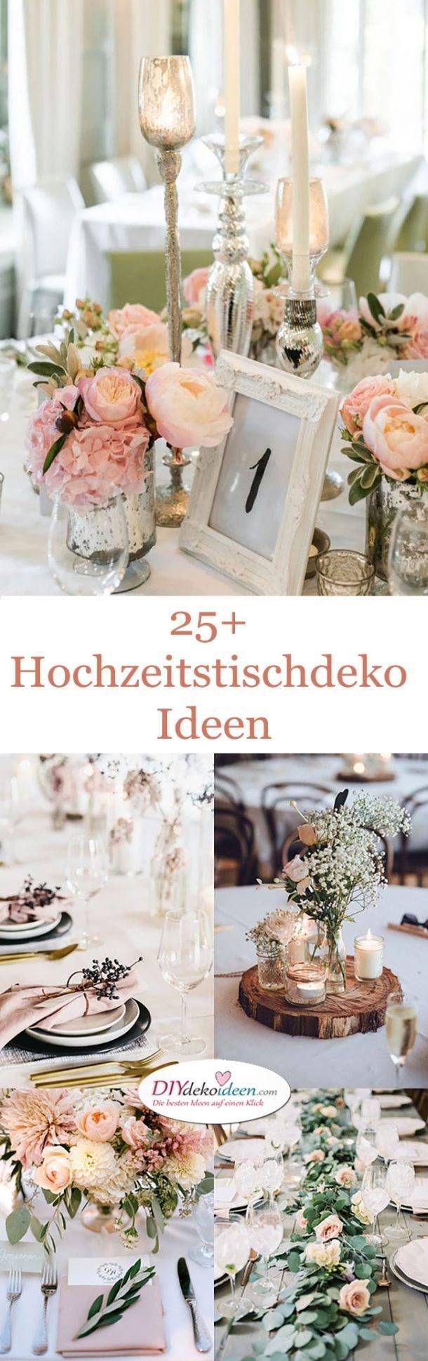 Hochzeitstischdeko Ideen für deine Hochzeitsplanung