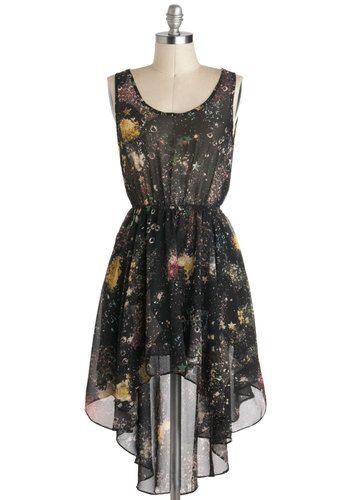 Moon Rock Concert Dress, #ModCloth