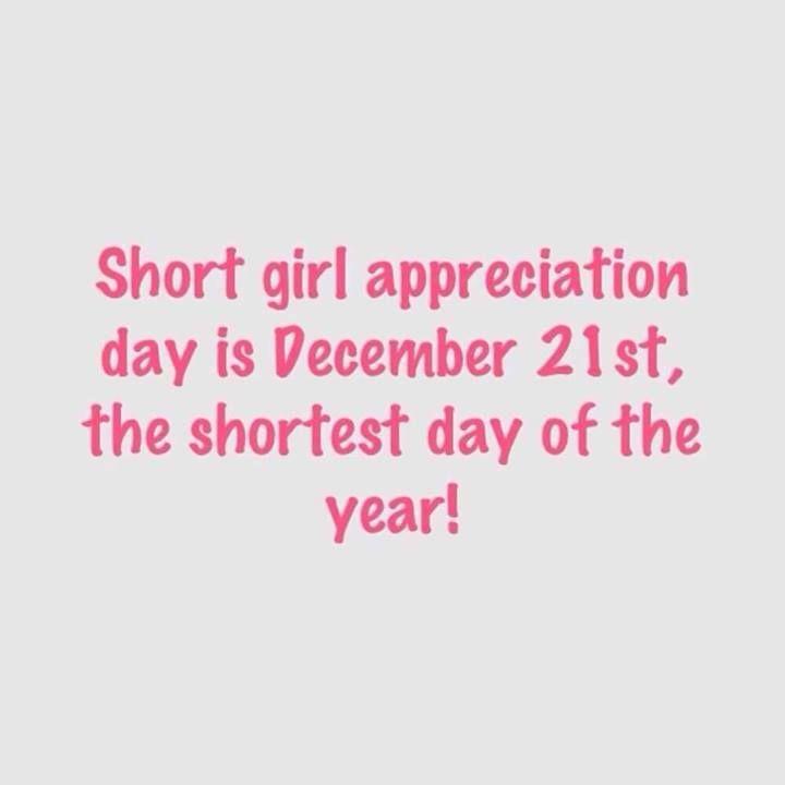 short girl appreciation day - Google Search