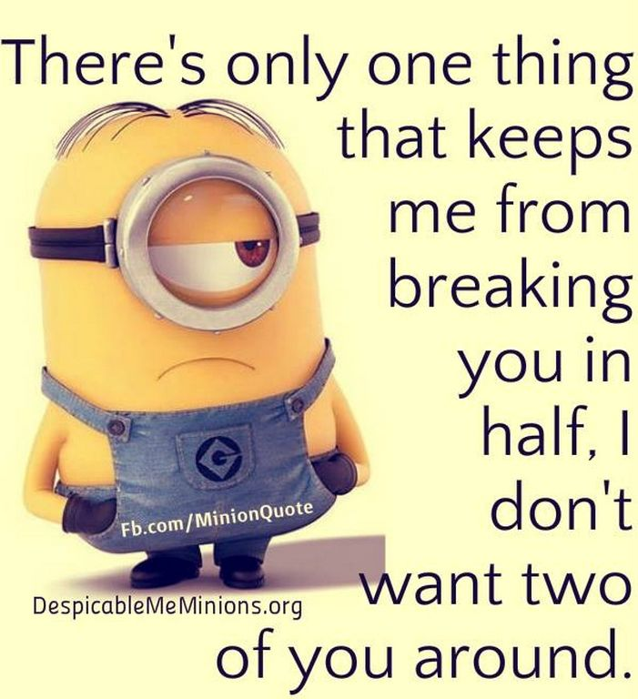 Funny minions photos with captions (01:07:59 AM, Saturday 14, November 2015 PST) – 10 pics
