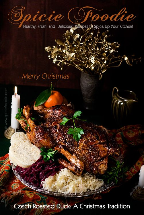 Czech Roasted Duck Recipe | #Czech #Duck #christmas #dinner