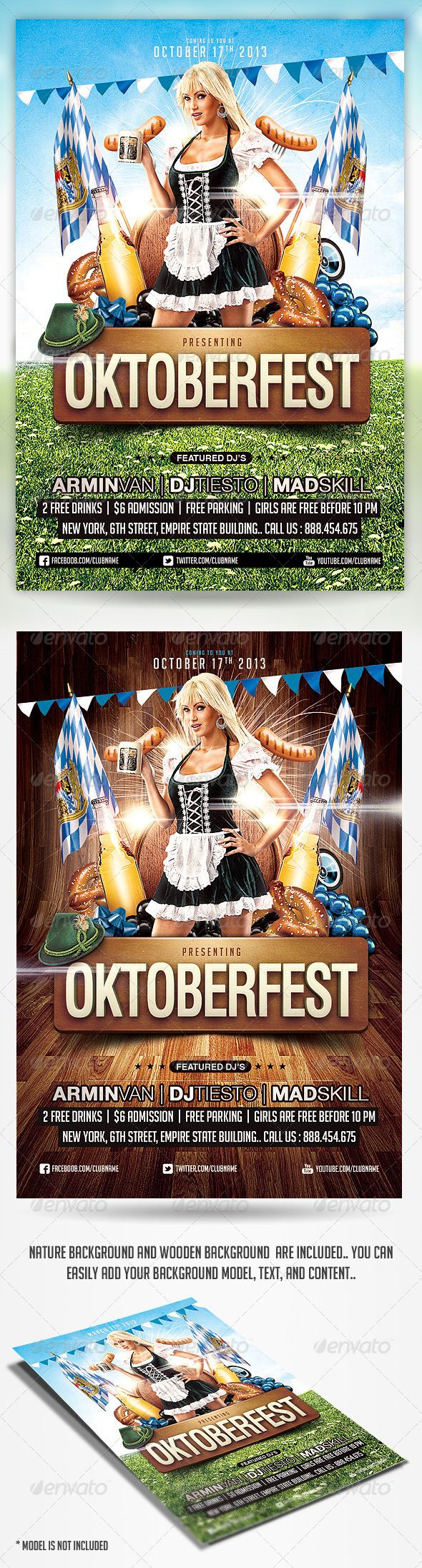 best images about party design flyers dj party oktoberfest party flyer template