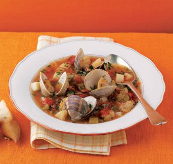 "Manhattan Clam Chowder from ""Classic Clam Chowder: what's your ..."