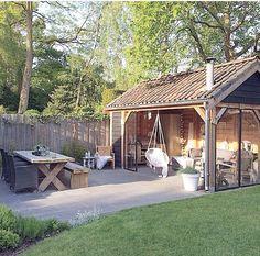 Binnenkijken bij Sandra - wat een prachtig huis!! En een prachtige tuin