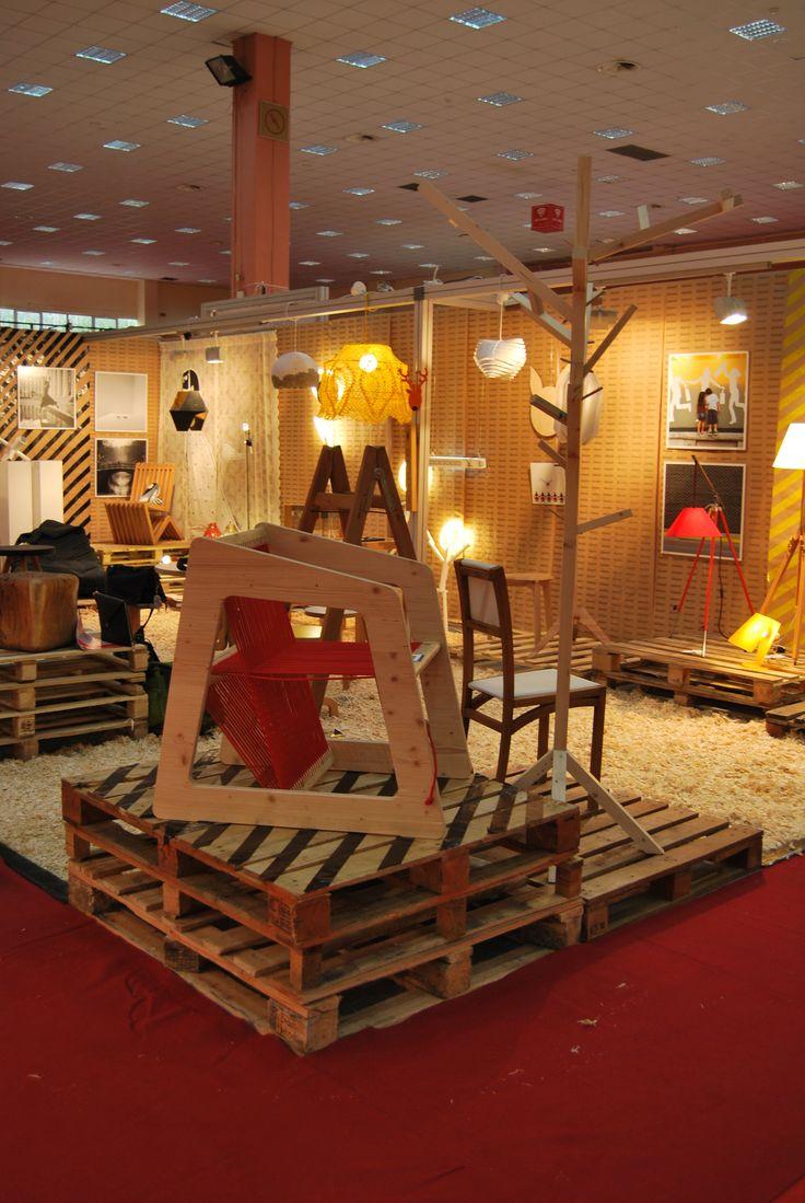 La Designarie at BIFE 2014 - Dizainar, Bucharest - Romania Loom Chair Designer: Andrei Ignat https://www.facebook.com/ladesignarie?fref=ts