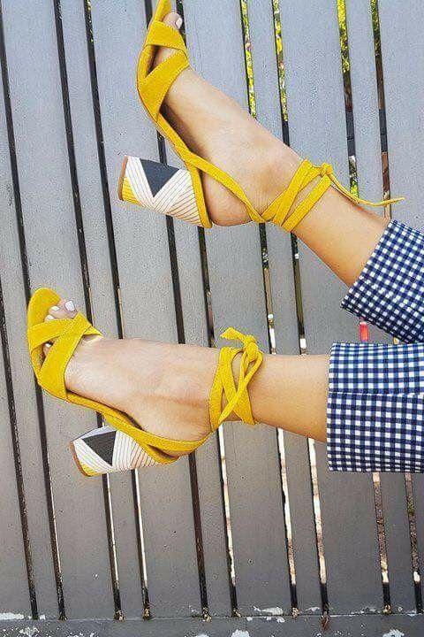 Verano El Zapatos Amarillos Zapatos Para JTKFcl1