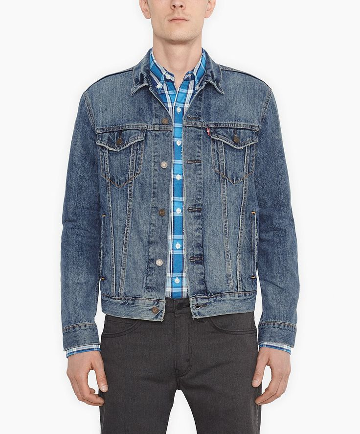 ber ideen zu jeansjacke m nner auf pinterest jeans f r m nner jeanshemd m nner und. Black Bedroom Furniture Sets. Home Design Ideas