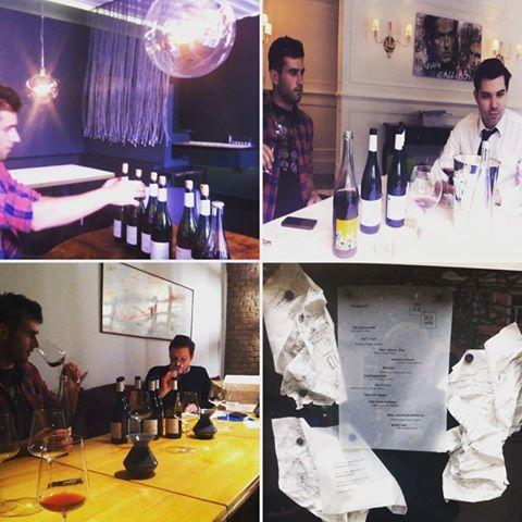Velmi zajímavý čas strávený ve Vídni. S našim rakouským distributorem @agora_vino jsme prezentovali vína @milannestarec. Kromě hotelu 1* Kempinsky, jsme na navštívili dvě 2* restaurace v Palais Coburg a Marzsohne. Příjemné také byla ochutnávku s čerstvým sommelierem Rakouska Matthiasem Pitrem v 1* vegetariánské restauraci Tian / Thank you @agora_vino for touring us and @milannestarec through such hi-end places and presenting there moravian natural wine!