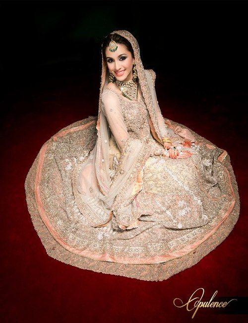 Latest Elan Bridal Wear Wedding Dress New Collection 2014 BY Khadijah Shah