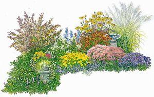 gestaltungstipps f r ein immerbl hendes beet garden plan. Black Bedroom Furniture Sets. Home Design Ideas