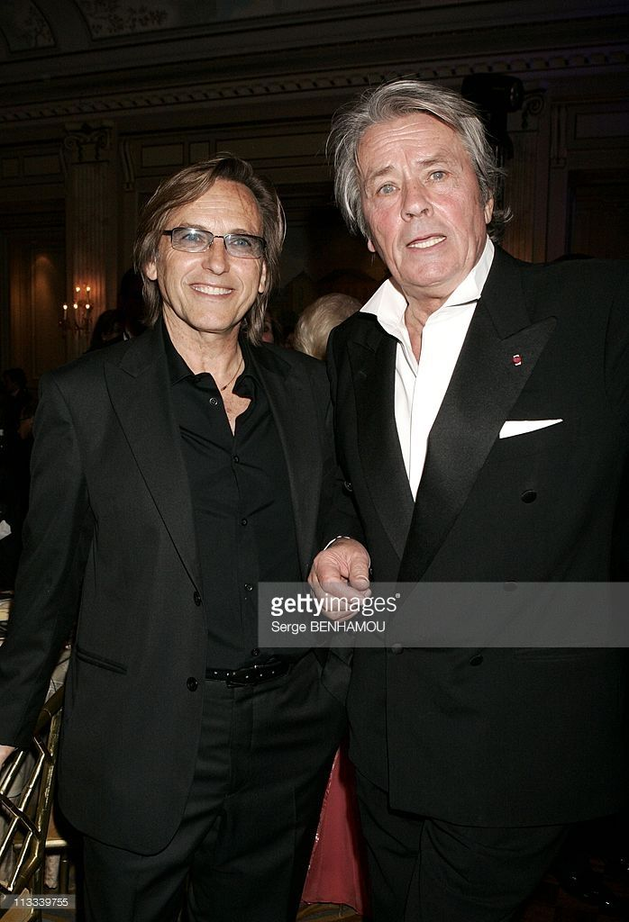 Irme Party 'April In Paris' At The Four Seasons Hotel Georges V - On April 22Nd, 2006 - In Paris, France - Here, Alain Delon And Alexandre Arcady