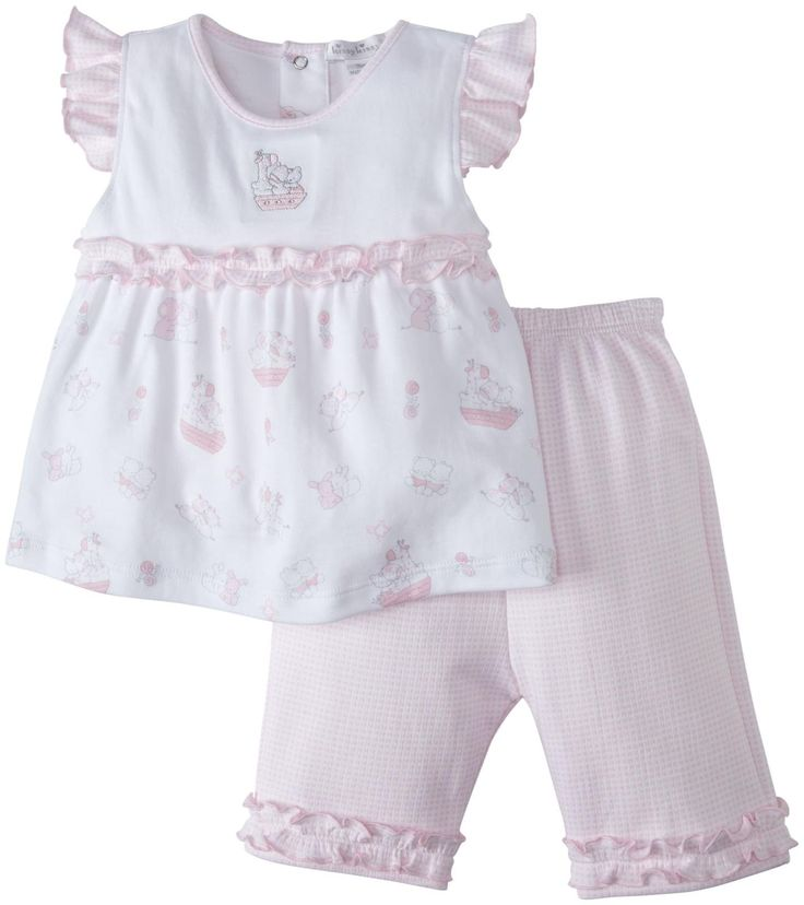 Kissy Kissy Our Ark Capri Pant Set Is A Pretty Pink Outfit