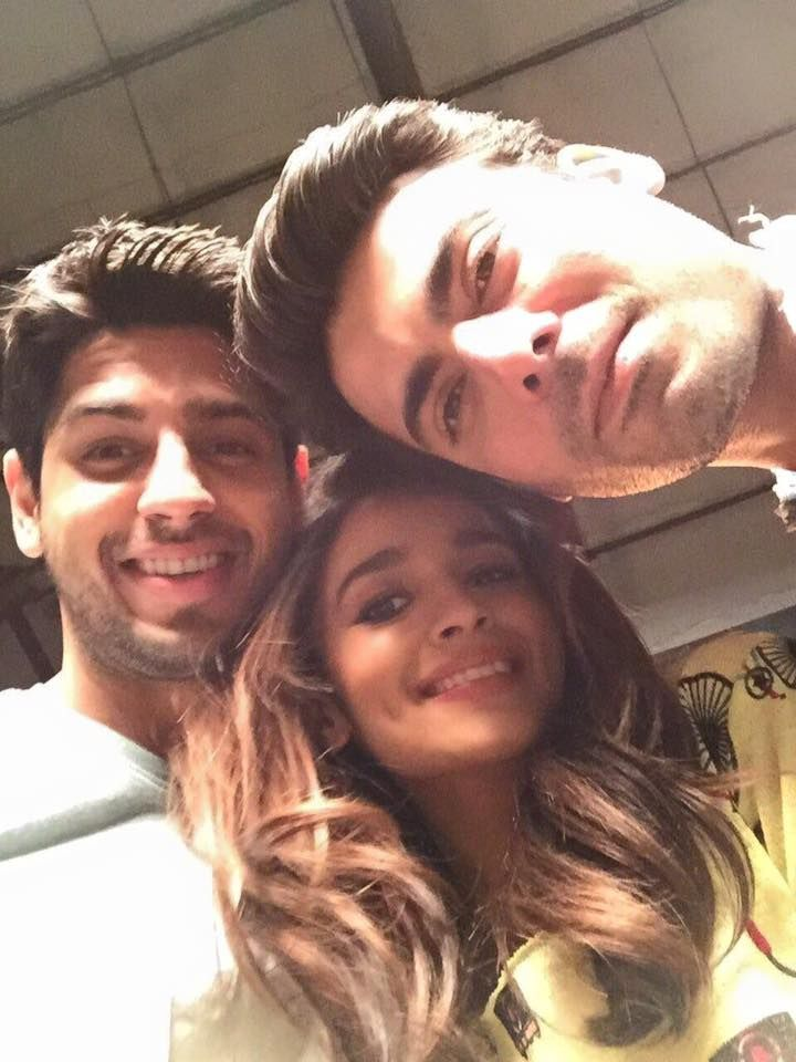 alia and sidharth are together ....wow