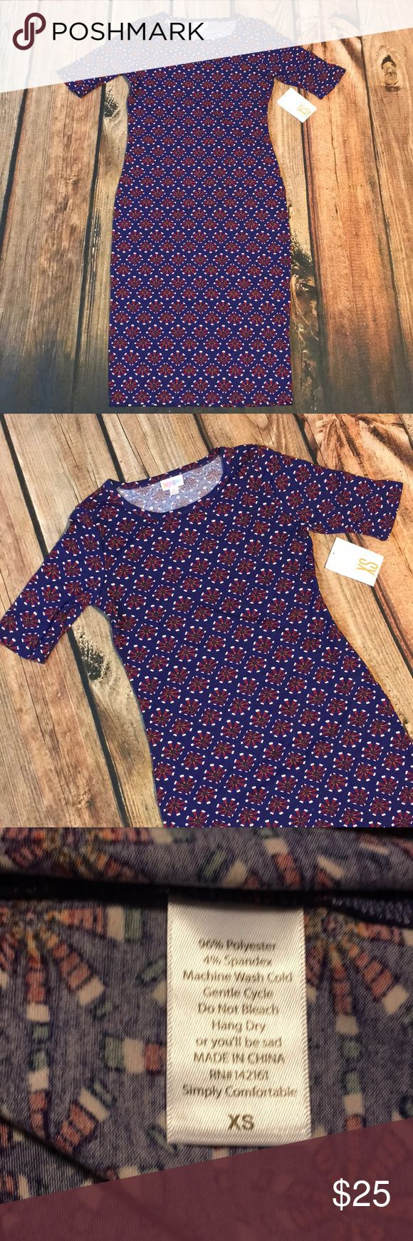 LuLaRoe Julia Size XS LuLaRoe Julia Size XS, 🚫 Trades LuLaRoe Dresses Midi