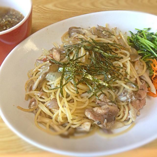 鯖の水煮缶で簡単パスタ♡ - 12件のもぐもぐ - 鯖缶de和風パスタ by TAREMEGUMA