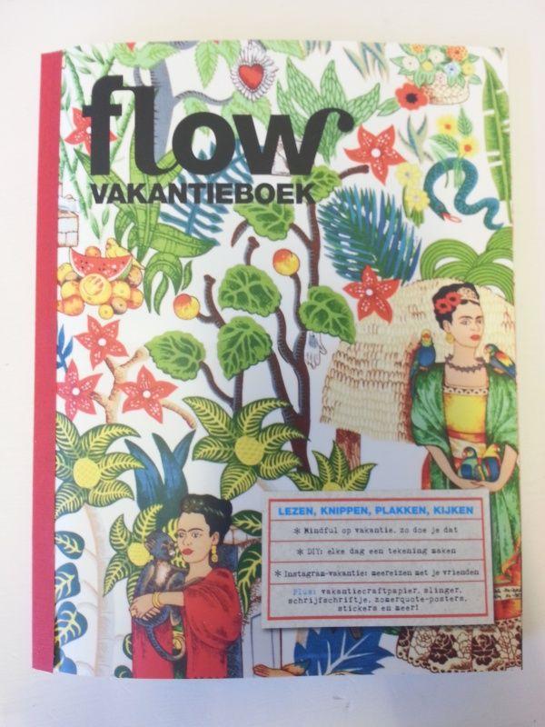 Flow vakantieboek. Nu ook verkrijgbaar bij Webshops Only Concept Store, Vughterstraat 47 's-Hertogenbosch