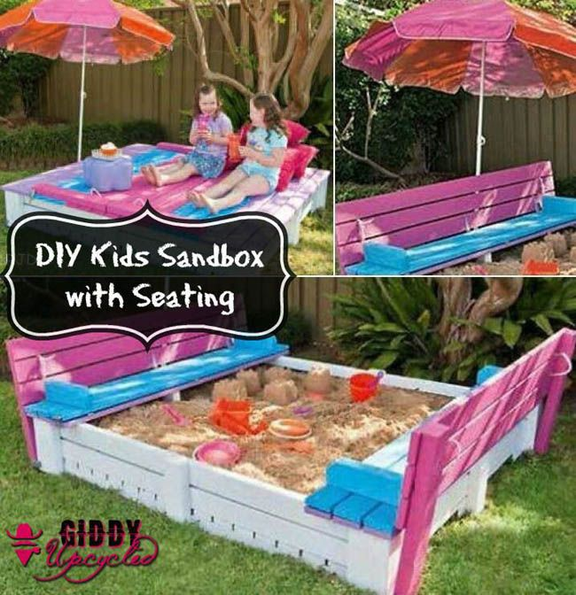 30+ DIY Outdoor Pallet Projects - A Piece Of Rainbow