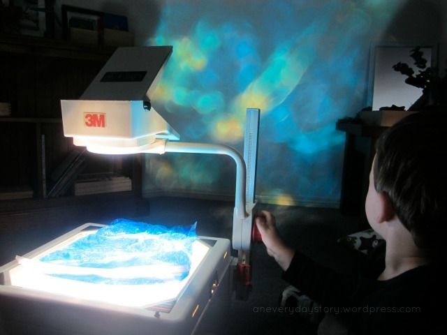 reggio activities using light and colour 2 {An Everyday Story}