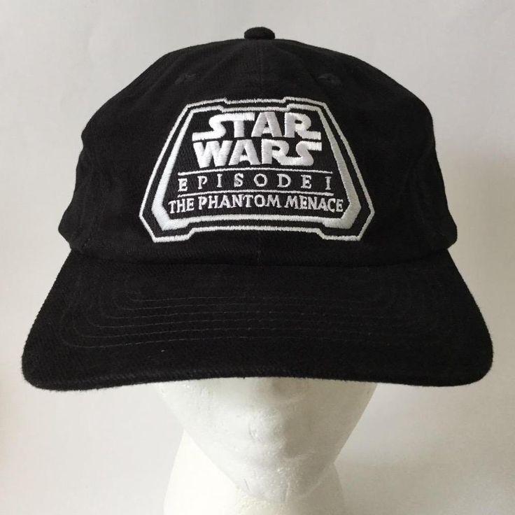 Star Wars Episode 1 The Phantom Menace ILM VFX Movie Crew Cap Hat 1999 #Unbranded #BaseballCap