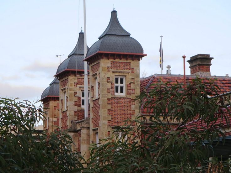 Government House (1864) in Perth is the seat of the unelected Governor of Western Australia.