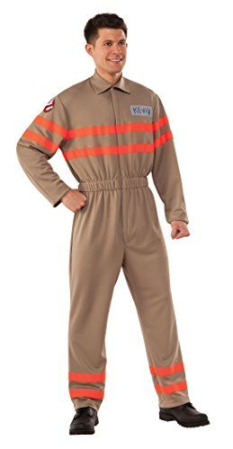 Rubie's Men's Ghostbusters Movie Deluxe Kevin Ghostbuster Jumpsuit - http://morehalloween.com/product/rubies-mens-ghostbusters-movie-deluxe-kevin-ghostbuster-jumpsuit/