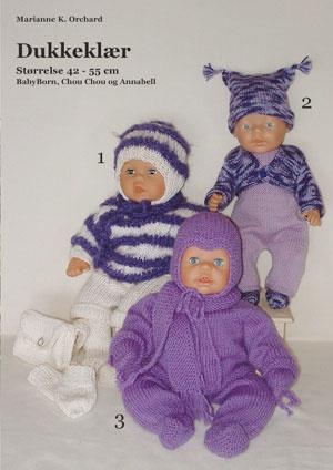 Oppskrifter på dukkeklær