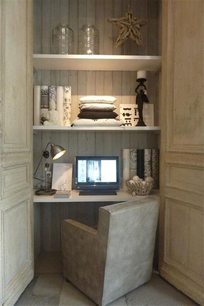 Put your office in the closet , easy to heat. Put a closet at the end of the mudroom where the woodbox used to be