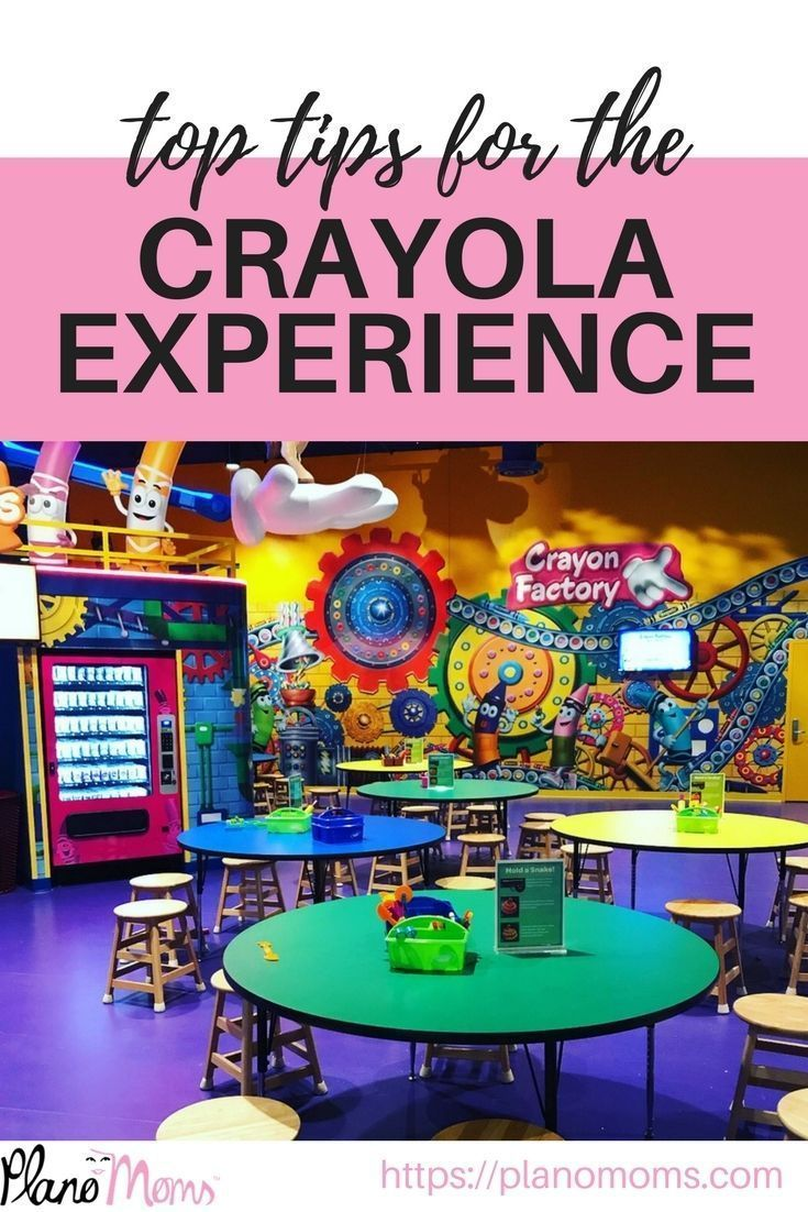 Our Top Tips For The Crayola Experience Plano Crayola Experience