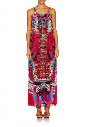 DESERT DISCOTHEQUE DRAWSTRING DRESS $599