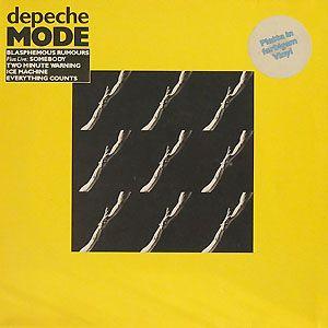 "Depeche Mode - ""Blasphemous Rumours"" - 12"" single, 1985."