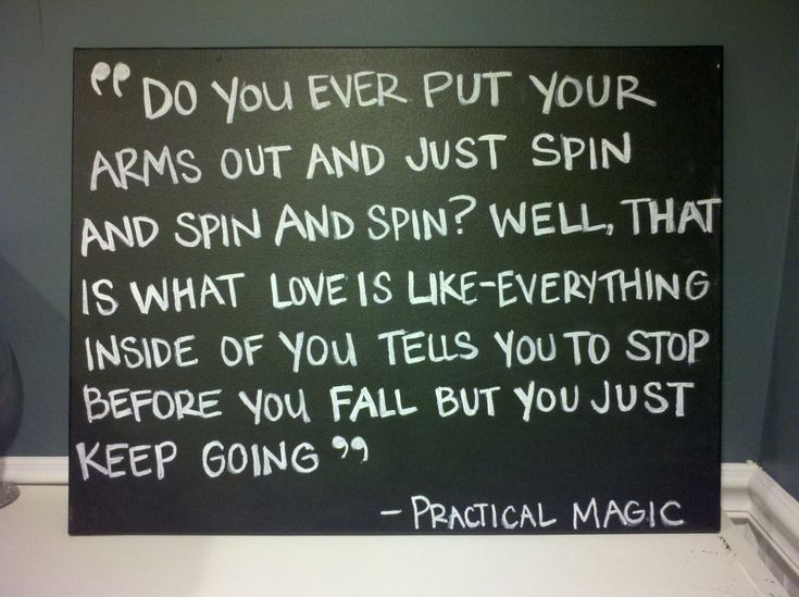 practical magic quotes about love | Quote: Select an option Sleepless in Seattle Practical Magic The ...