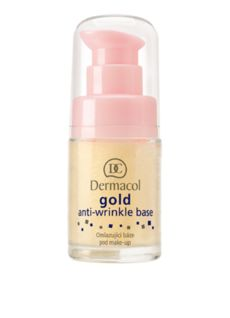 Omlazující báze pod make-up se zlatem Vrásky vyplňující a vyhlazující báze pod make-up s aktivním zlatem a mořskými řasami výrazně zpomaluje proces stárnutí, zvyšuje pružnost a jemnost pokožky, dodává jí jas a vitalitu. Má omlazující a antioxidační účinky. #DermacolCZSK #Dermacol #DermacolGold #Wrinkle #AntiwrinkleBase #AntiWrinkle #DermacolOfficial   http://www.dermacol.cz/produkt/gold-anti-wrinkle-make-up-base-gold-anti-wrinkle-base-cz-1409-a/