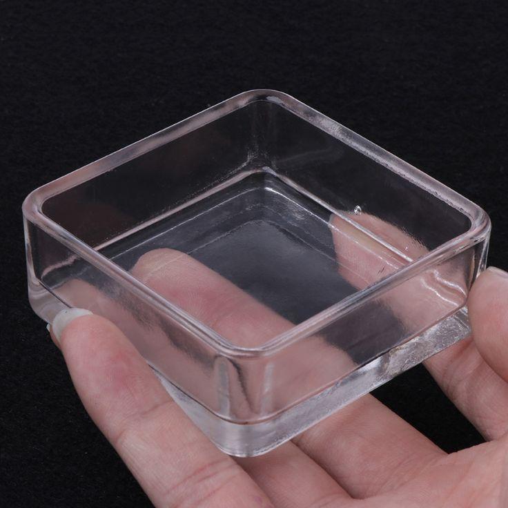 Acrylic Aquarium Fish Tank Shrimp Feeding Food Dish Tray Bowl Container FeederCup Basin Tray Container Supply