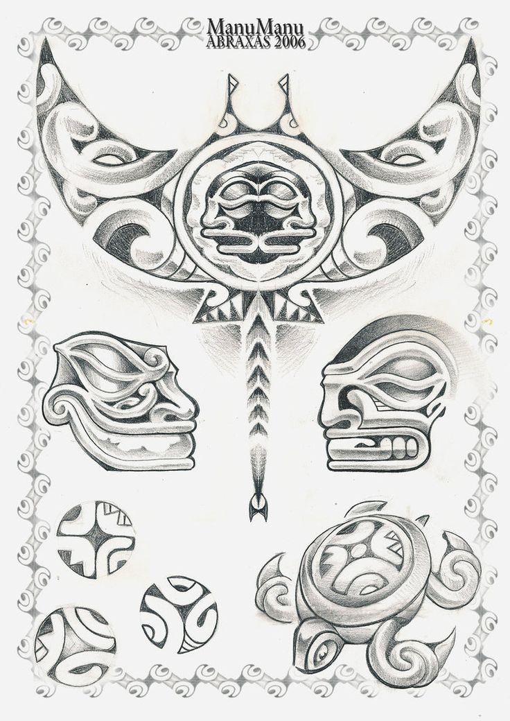 Body Art World Tattoos Maori Tattoo Art And Traditional: Traditional Polynesian Designs
