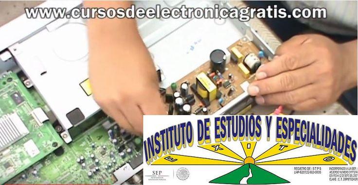 CURSOS DE ELECTRÓNICA GRATIS: REPARACIÓN DE DVD PARTE 1