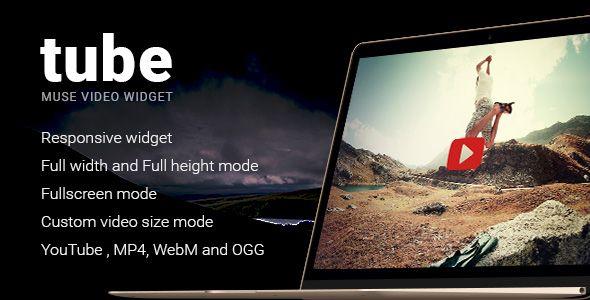 Download Free Tube - Responsive Adobe Muse Video Widget # adobe #adobe muse #full height #full width #fullscreen #mulib #muse #overlay #playlist #responsive #video #widget #youtube
