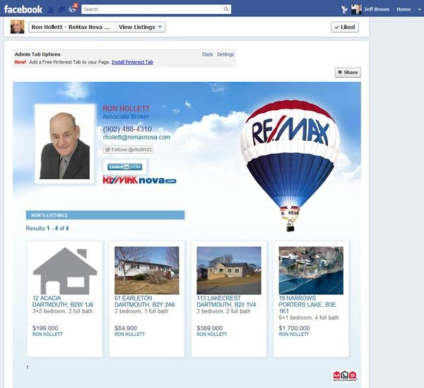 New Facebook listings page for real estate agents released.
